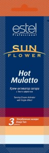Estel Care Sun Flower Крем №4 Hot Mulatto для загара - активатор 15мл